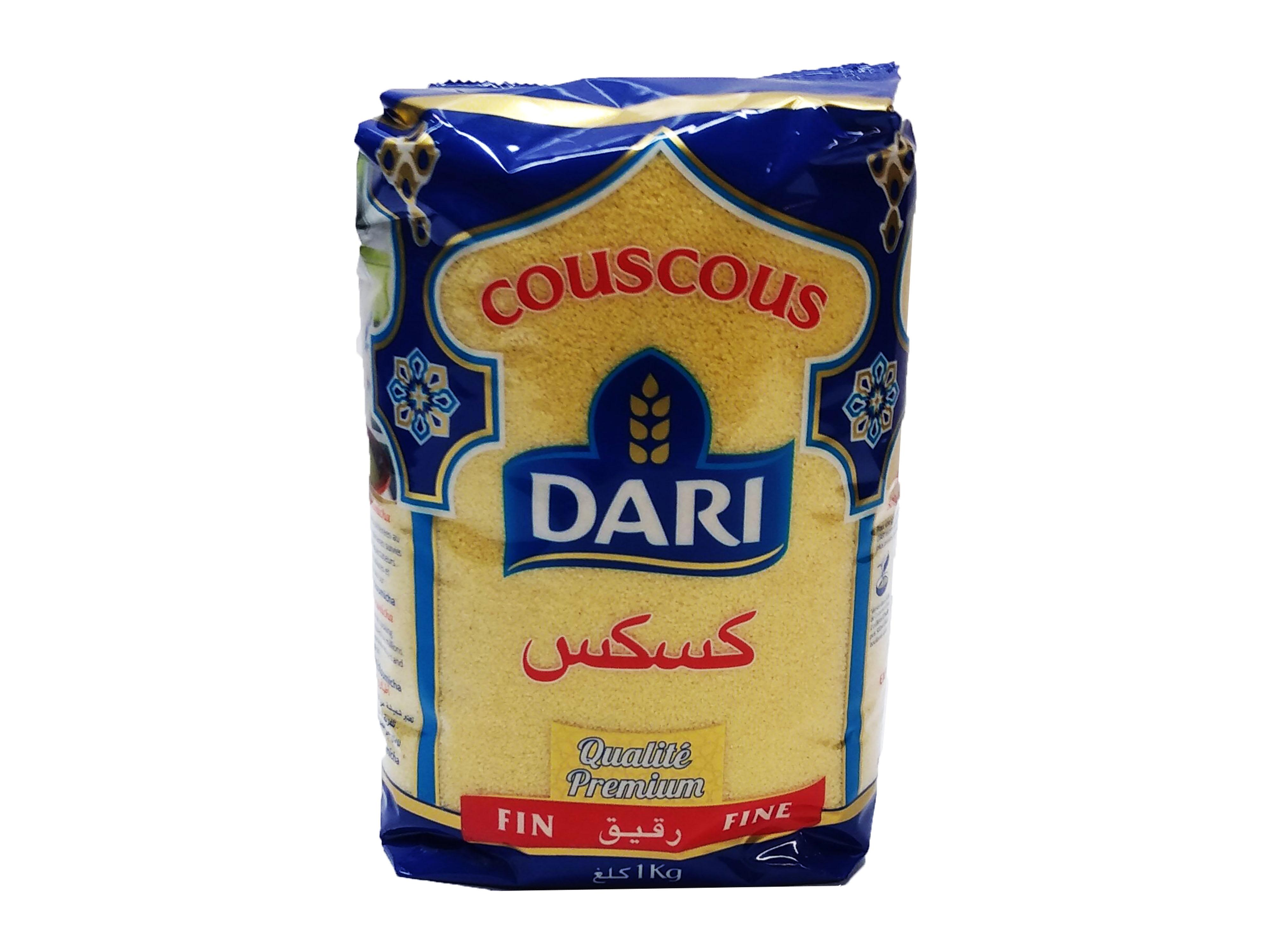 Photo du produit divial les surgelés : COUSCOUS DARI FIN 1 KG