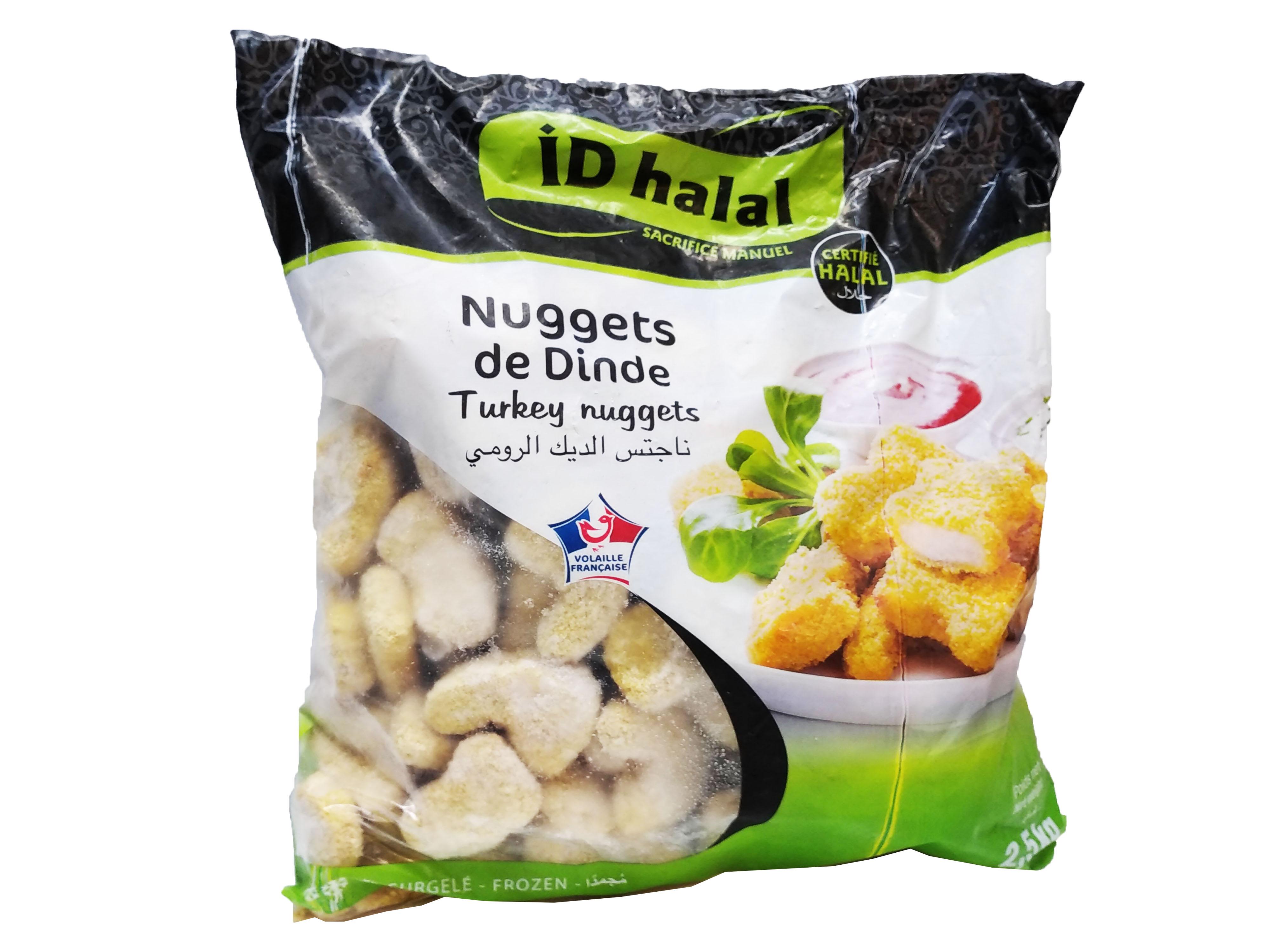 Photo du produit divial les surgelés : NUGGETS Dinde HALAL  2.5 KGS