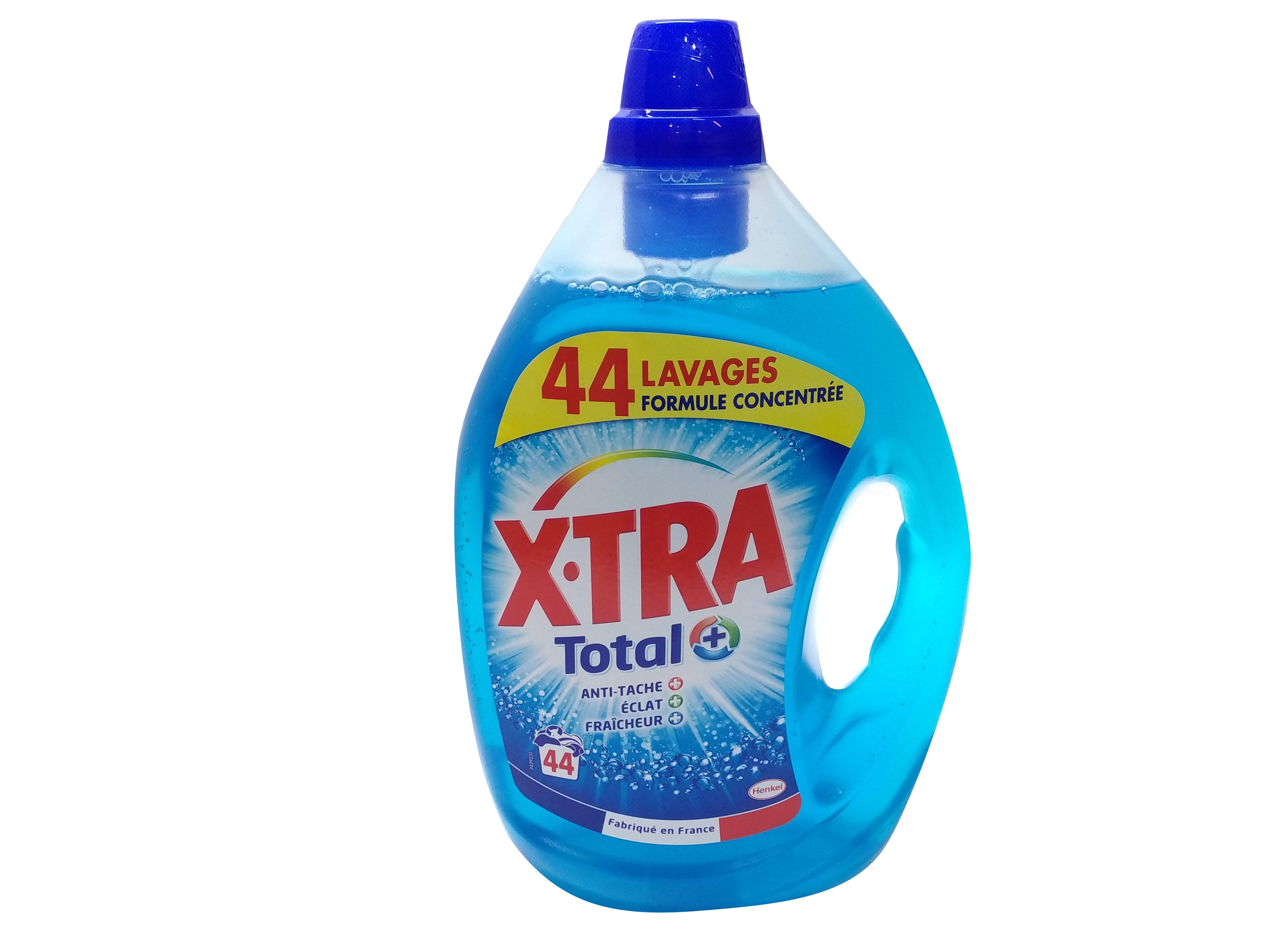 Photo du produit divial les surgelés : X-TRA TOTAL LESSIVE LIQUIDE 2.2L DESTOCKAGE